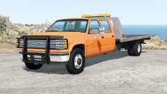 Gavril D-Series Crew Cab Rollback Upfit v1.01 para BeamNG Drive
