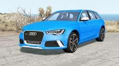 Audi RS 6 Avant (C7) 2013 para BeamNG Drive