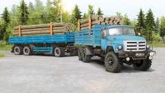 SIL 133GYA 6x6 para Spin Tires