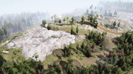 Montañas plateadas〡complicadas para MudRunner