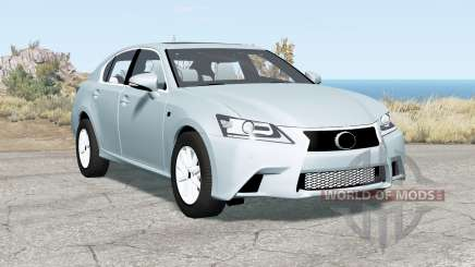 Lexus GS 350 F Sport (L10) 2012 para BeamNG Drive