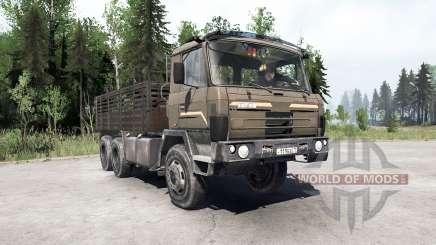 Tatra T815〡Swers para MudRunner