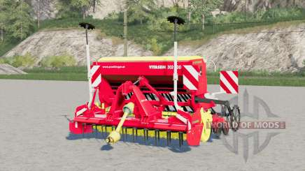 Pottinger Vitasem 302 ADD〡coral rojo para Farming Simulator 2017