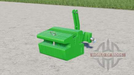 John Deere slice weight para Farming Simulator 2017