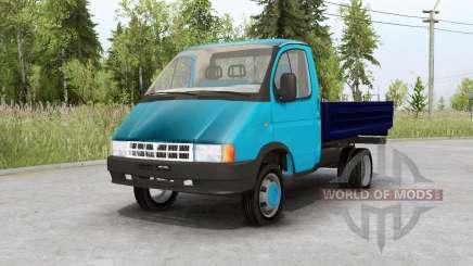 Gaz 3302 Gazelle para Spin Tires