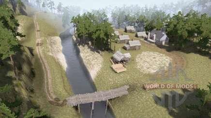 Pueblo junto al río para MudRunner