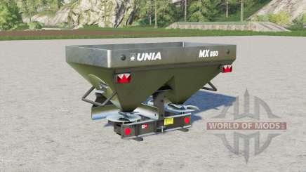 Unia MX 850〡1000〡1200 para Farming Simulator 2017