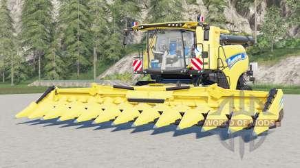 New Holland CR10.90 Revelation〡 capacidad real para Farming Simulator 2017