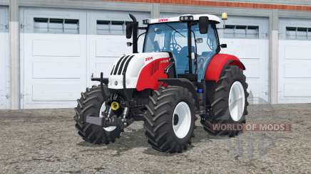 Steyr 6160 CVT〡pemado funcional para Farming Simulator 2015