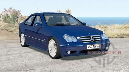 Mercedes-Benz C 320 (W203) 2004 v3.0 para BeamNG Drive