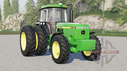 John Deere 4000 series para Farming Simulator 2017