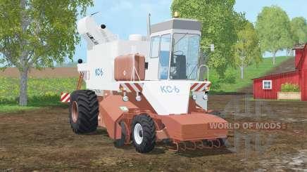 KC-6〡 de remolacha 〡sacamed para Farming Simulator 2015