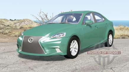 Lexus IS 350 F Sport (XE30) 201Ꝝ para BeamNG Drive