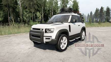 Land Rover Defender 90 D240 SE Adventure 2020 para MudRunner