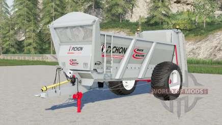 Pichon Muck Master M16 para Farming Simulator 2017