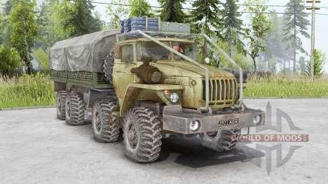 Urales 6614 8x8 para Spin Tires
