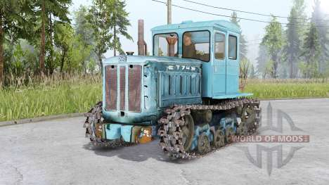 DT-75 y T-74 para Spin Tires