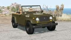 Ibishu Hopper US Army para BeamNG Drive