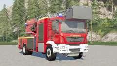 MAN TGM Fireman Ladder Truck para Farming Simulator 2017