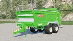 Bergmann TSW 4190 S universal spreader para Farming Simulator 2017