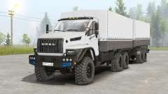 Ural Siguiente 6x6.1 (4320-6952-72E5G38) para Spin Tires