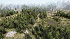 Tierras Bajas v1.2 para MudRunner