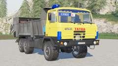 Tatra T815 6x6.1 Agro〡ivory amarillo para Farming Simulator 2017