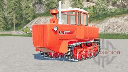 DT 175C Volgar〡 Naranja Rojo para Farming Simulator 2017
