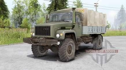 Gaz 3308 Sadko y Gaz 33081 Ranger para Spin Tires