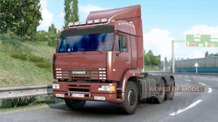 Kamaz 6460〡 suena para Euro Truck Simulator 2