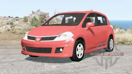 Nissan Versa hatchback (C11) 2010 para BeamNG Drive