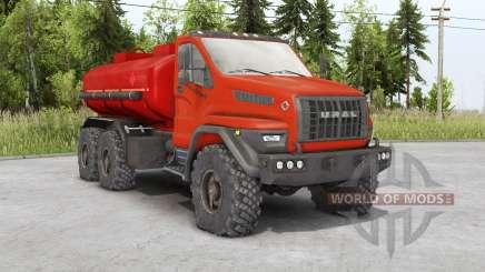Ural Siguiente 6x6.1 (4320-6952-72) 2018 para Spin Tires