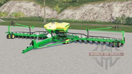 John Deere DB60〡 trabaja con fert líquido y herbicida para Farming Simulator 2017