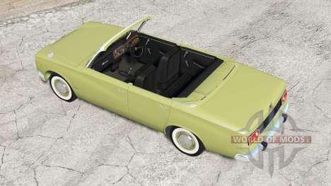 Ibishu Miramar cabriolet v1.3 para BeamNG Drive