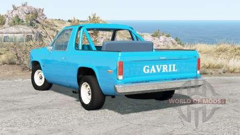 Gavril D-Series 70s v0.8.0b para BeamNG Drive