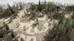 Llanuras forestales para MudRunner
