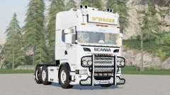 Scania R730 6x4 Streamline Topline Cab〡DHoine para Farming Simulator 2017