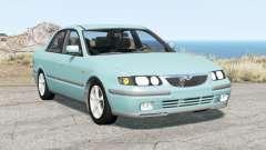 Mazda 626 sedan (GF) 1997 para BeamNG Drive