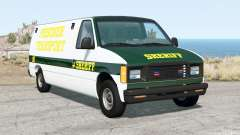 Gavril H-Series Prison Van para BeamNG Drive