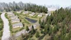 Distrito Forestal 3 v1.3.5 para MudRunner