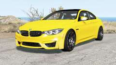 BMW M4 coupe (F82) 2017 para BeamNG Drive