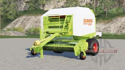 Claas Rollant 250 RotoCut〡contraje las llantas de color de la escuela para Farming Simulator 2017