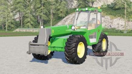 John Deere 4500〡4 configuraciones de la marca de neumáticos para Farming Simulator 2017