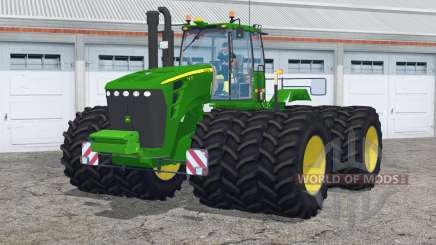 John Deere 9630〡con triples para Farming Simulator 2015