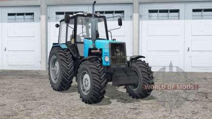 MTH 1221 Bielorrusia〡 y rastros de ruedas para Farming Simulator 2015