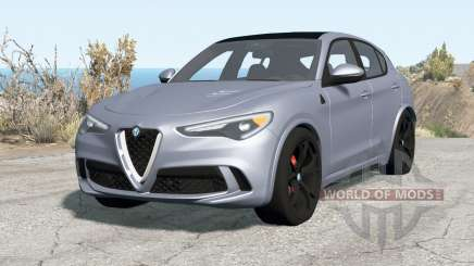 Alfa Romeo Stelvio Quadrifoglio (949) 2018 para BeamNG Drive