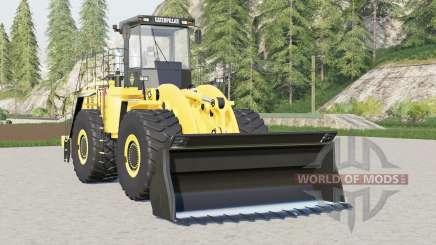 Caterpillar 990H para Farming Simulator 2017