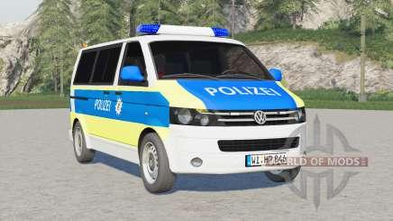 Volkswagen Transporter Kombi (T5) 2009〡Emergency v2.0 para Farming Simulator 2017