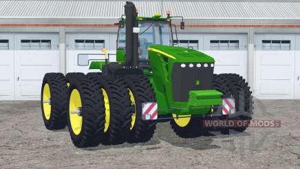 John Deere 9630〡con triples estrechos para Farming Simulator 2015