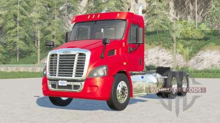 Freightliner Cascadia Day Cab〡mirrors reflejan para Farming Simulator 2017